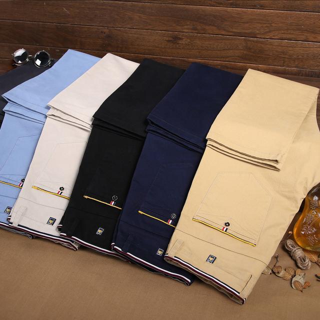 Men's Business Straight Cotton Pants