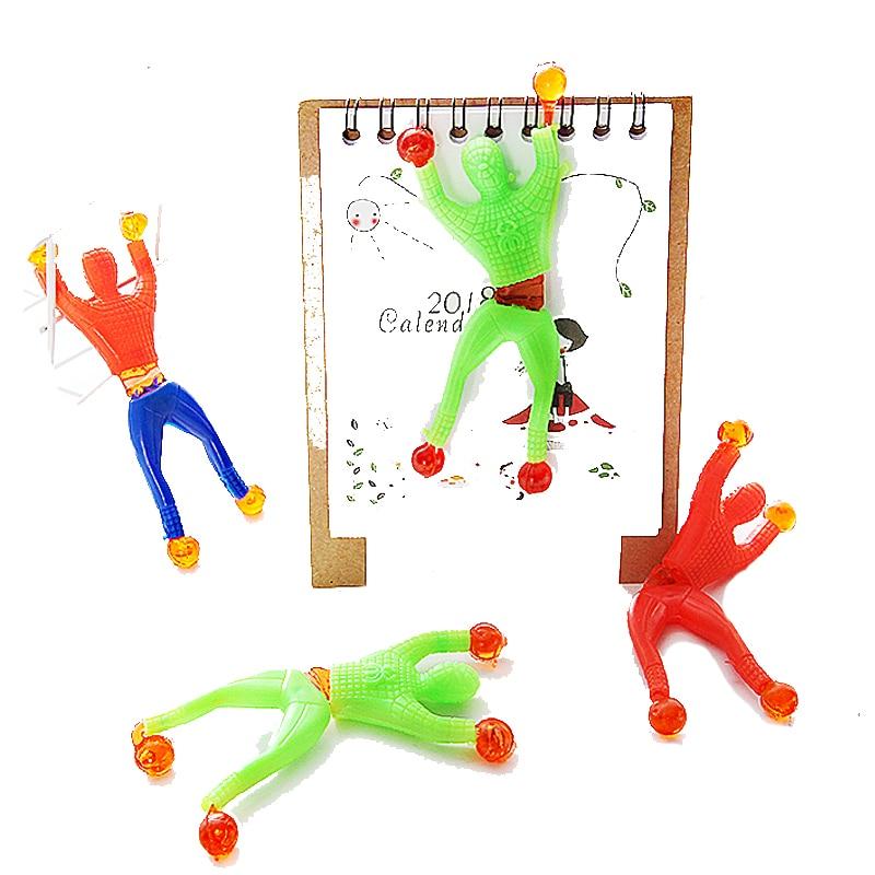 12pcs/lot Sticky Wall Climbing Climber Boy Kids Party Toys Fun Favors Birthday Gift  Boys' Favorite Toy