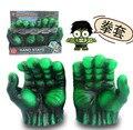 LAS ÚLTIMAS Envío Gratuito Nueva The Avengers Hulk Gamma Punhos Grip Puños Juguetes Decoración de La Novedad Fiesta Vingadores Kids Toy