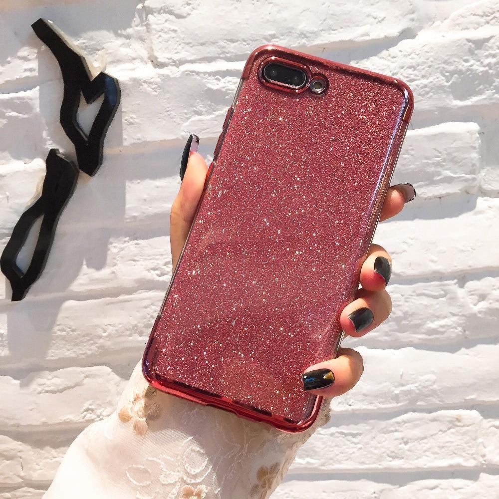 Luxury Diamond Glitter Case for Xiaomi 8 SE 5X A1 6X A2 Lite Mix 2s Max 3 Redmi 5 Plus 4X 5A 6 pro 6A S2 Note 5 4X 5A TPU Cover