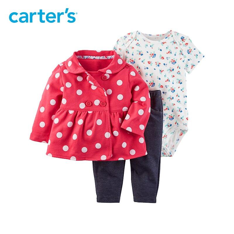 644565b53 Carter s 3 Piece baby children kids clothing Girl Spring   Fall ...