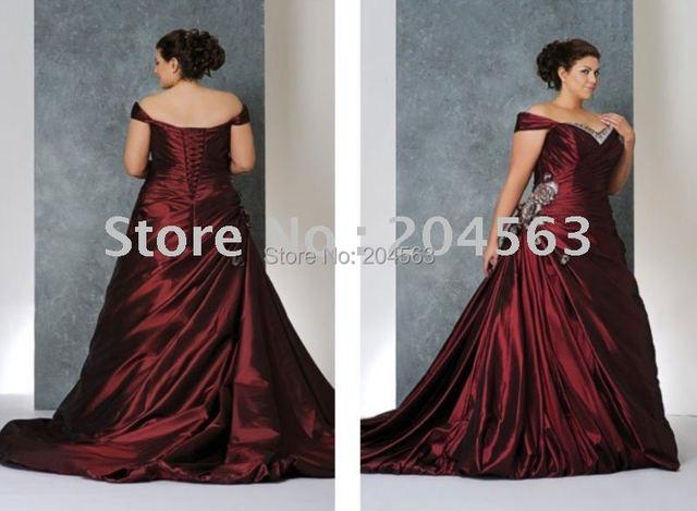 Free shipping best selling vintage plus size Wedding Dresses handmade flower custom size&color