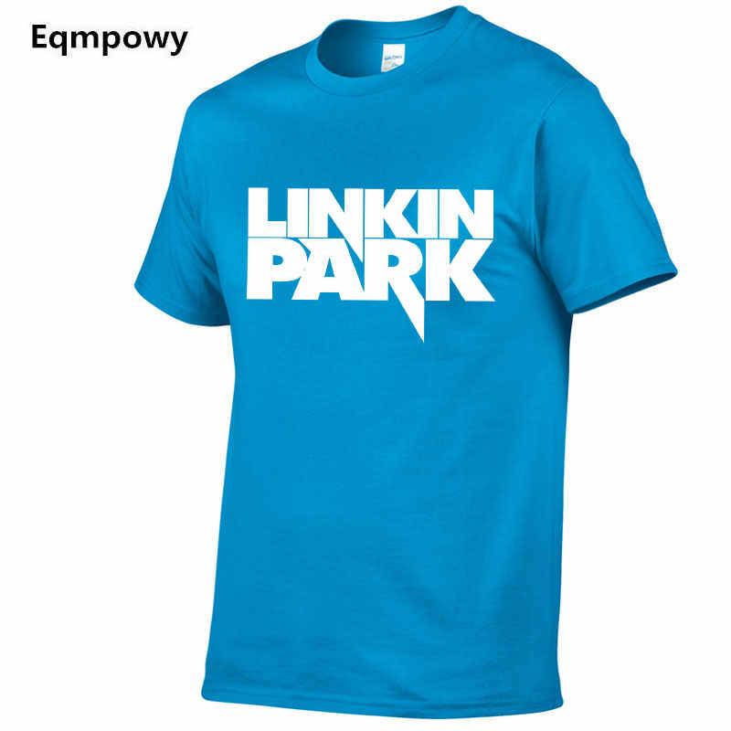 2019 Летняя Мода Linkin park с коротким рукавом Футболка мужская минут до полуночи печатный хлопок хип-хоп футболка рок мужчины и женщины