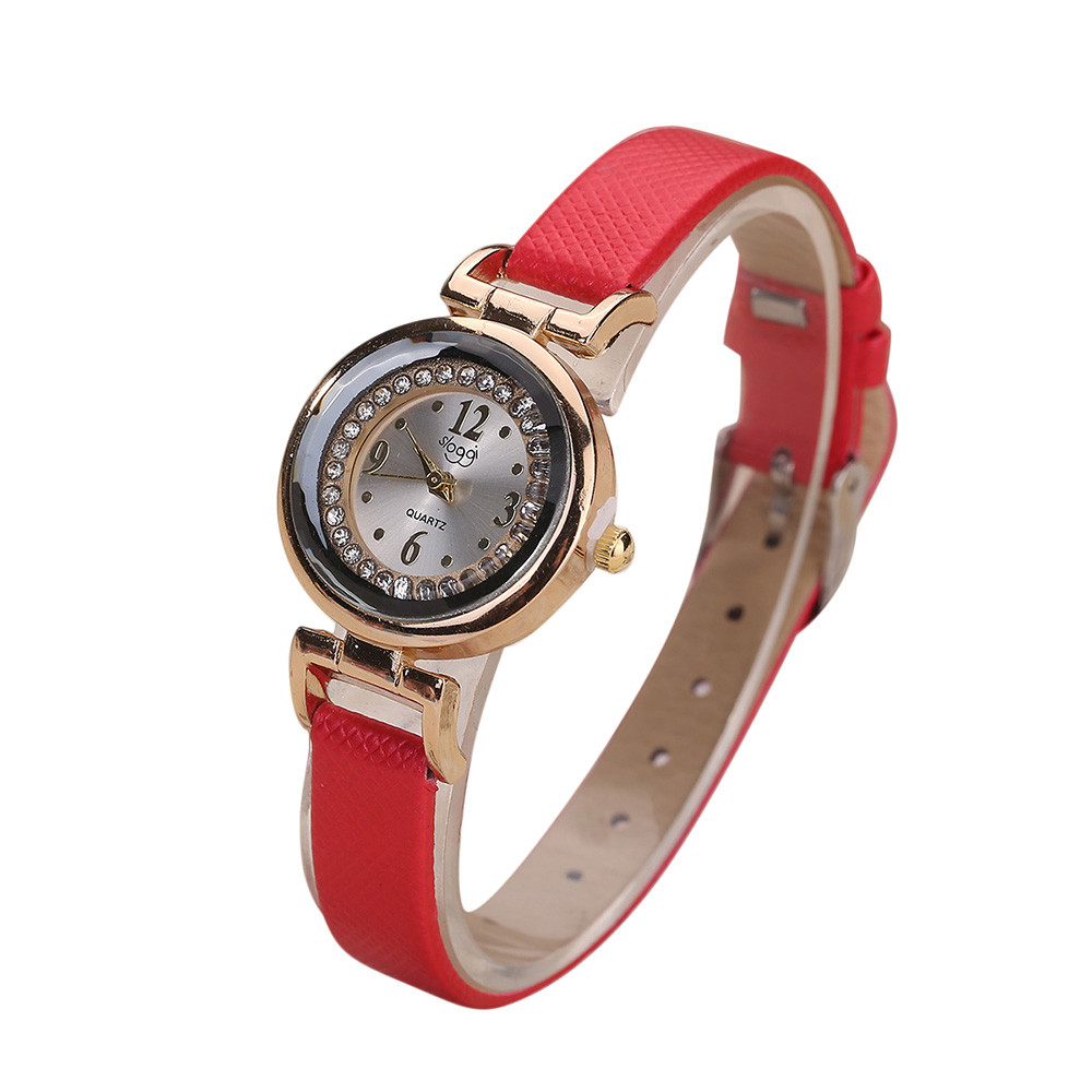 Women Female Watch Leather Band Diamond Analog Quartz Wrist Watch Fashion Casual Woman Small Dial Dress Watches reloj retro small dial watch women simple desingn thin belt casual watches womens vogue pu leather analog quartz wrist watch reloj n