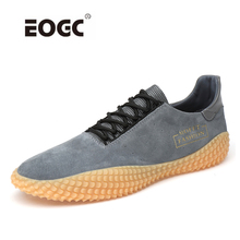 Spring Casual Shoes Men Leather Designer Fashion sneakers  High Quality Lace Up Outdoor Flats Shoes цена