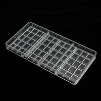 Real Polycarbonate Chocolate Bar Mold Eco Friendly Plastic Baking Pastry Mould Cozinha Kitchen Tools