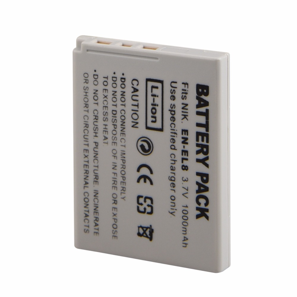 Consumer Electronics The Best Battery Charger For Nikon Mh-62 En-el8 Coolpix S3 S2 S1 P4 P3 P2 P1 L1 L2 S51 S51c S5 S6 S S7c S8 S9 S50 S7c S6 S5 S4 New Varieties Are Introduced One After Another Accessories & Parts