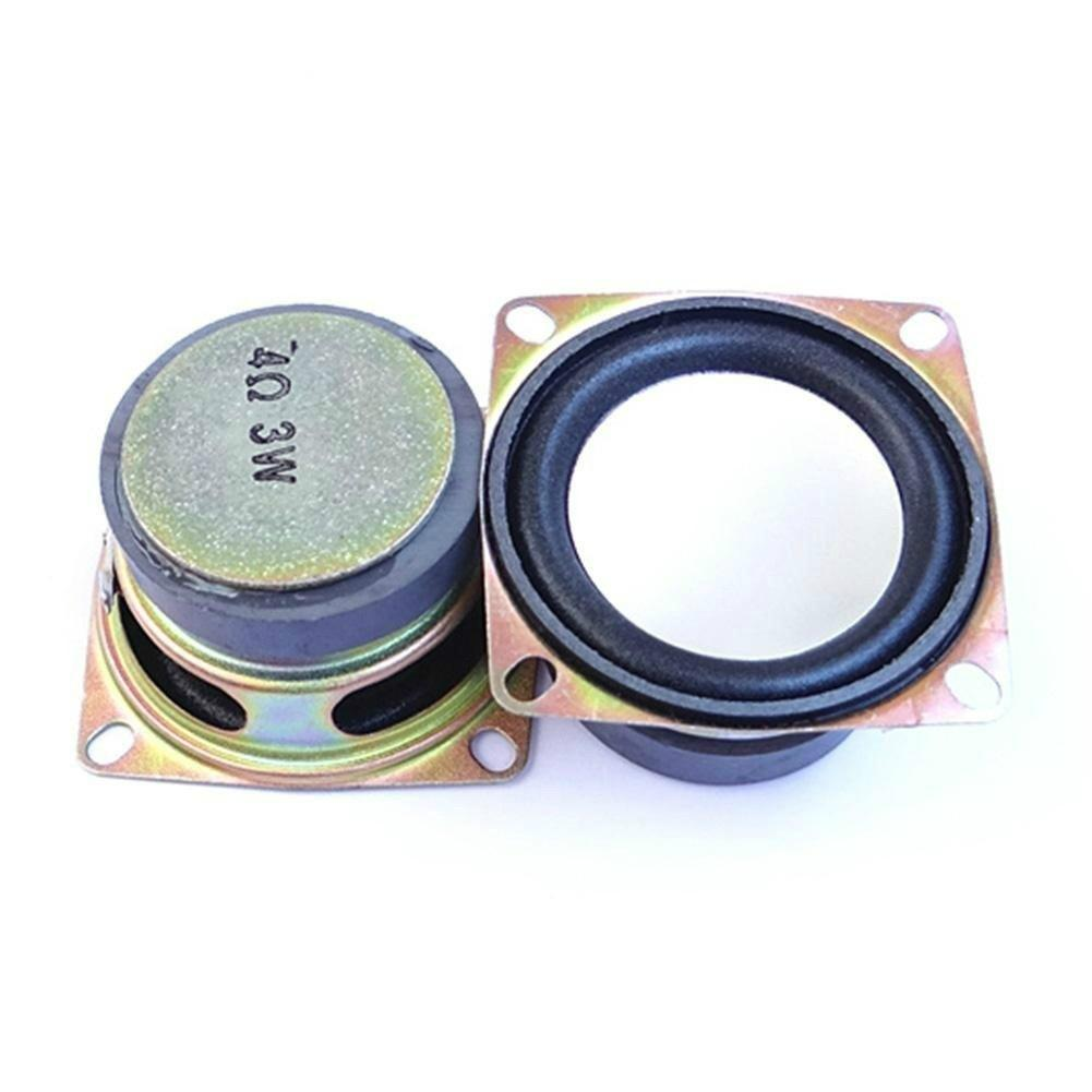 New 2inch 4ohm 3W Full Range Mini Speaker For Stereo Loudspeaker Box DIY Accessories Stereo Subwoofer Music Loudspeaker Speaker