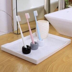 Image 5 - Fait à la main porte brosse à dents En Céramique Mini porte brosse à dents