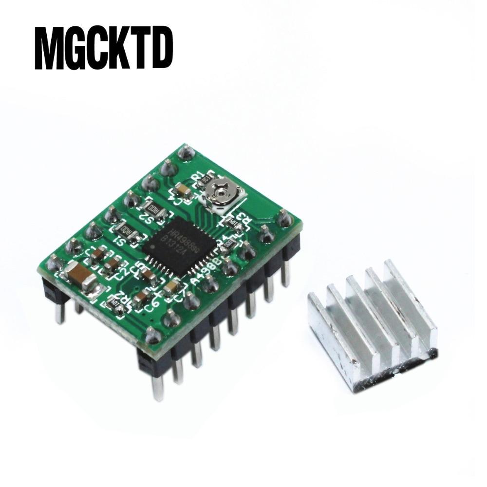 10pcs/lot Reprap Stepper Driver A4988 Stepper Motor Driver Module For 3D printer