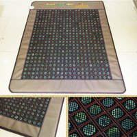 Best Quality+Digital Display,Natural Tourmaline Mat Beauty Mattress Jade Physical Therapy Pad Infrared Heating Mat Size120x190cm