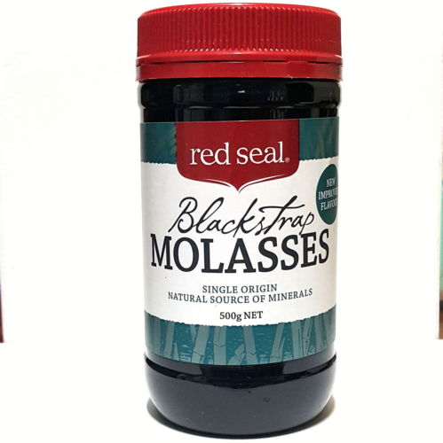 NEW Red Seal Organic Unsulphured Black Strap Molasses 500g