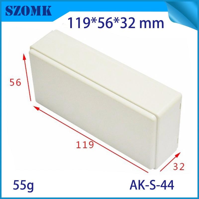 1 Piece plastic enclosures for electronics standard plastic small case junction box Black color junction box plastic enclosures