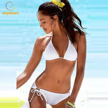 Brazilian Bikini Swimwear Women Swimsuit Sexy Push Up Bikini Set 2017 Bandage Swimwear Female Bathing Suits Beachwear Bikinis XL