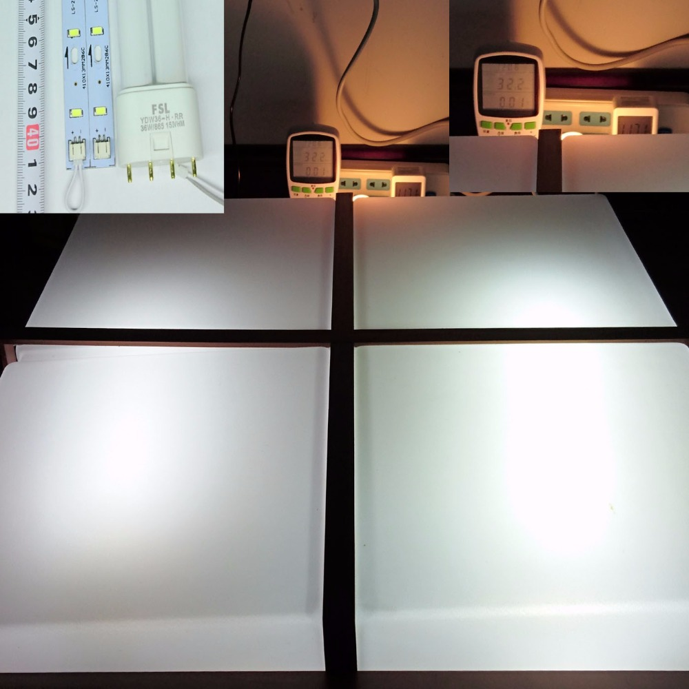 Luzes Led Bar tubo de luz fluorescente compacta Thickness Fast Cooling Aluminum Plate, : to Keep The Led Long Lifespan,