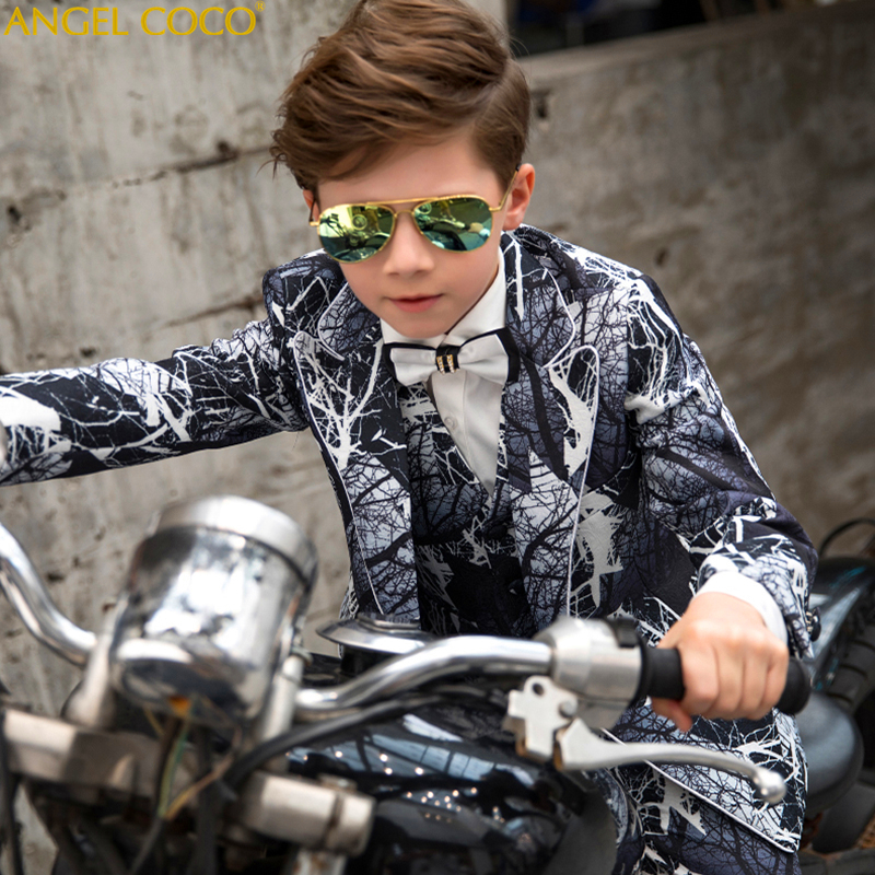 Children Suit For Boy Single Breasted Boys Suits For Weddings Costume Enfant Garcon Mariage Boys Blazer Jogging Garcon 5pcs Children Suit For Boy Single Breasted Boys Suits For Weddings Costume Enfant Garcon Mariage Boys Blazer Jogging Garcon 5pcs