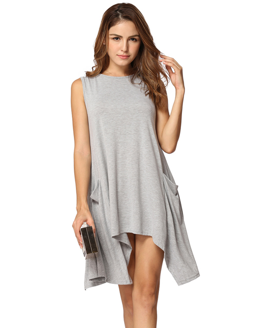 Asymmetrical Tunic Dress