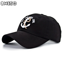 2017 Anchor embroidery Snapback Baseball Cap Men Dad hat Summer Women Cotton hip hop hat Casquette Bone gorras hombre ZXM-JY-129