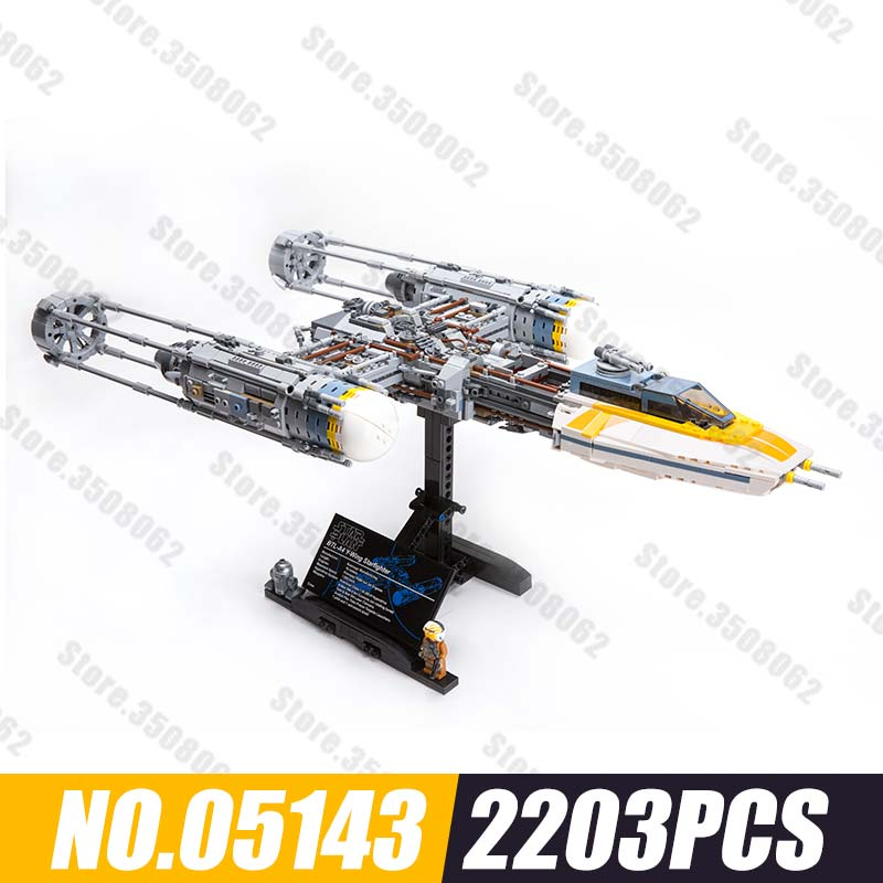 05143 Star Series Wars The Y set wing Starfighter Model Compatible INGlys 75181 Building Blocks Toys For Children Gift05143 Star Series Wars The Y set wing Starfighter Model Compatible INGlys 75181 Building Blocks Toys For Children Gift