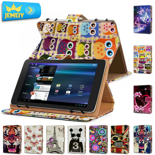 US $18 99 |10 1'' Leather case For Alcatel Onetouch Pop 10/ Alcatel  Onetouch pixi 3 Universal Cover,Printed Tablet Stand case For Alcatel-in  Tablets &