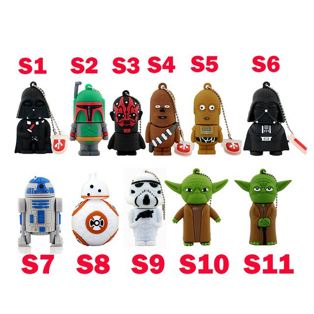 11 styles Star Wars flash drive