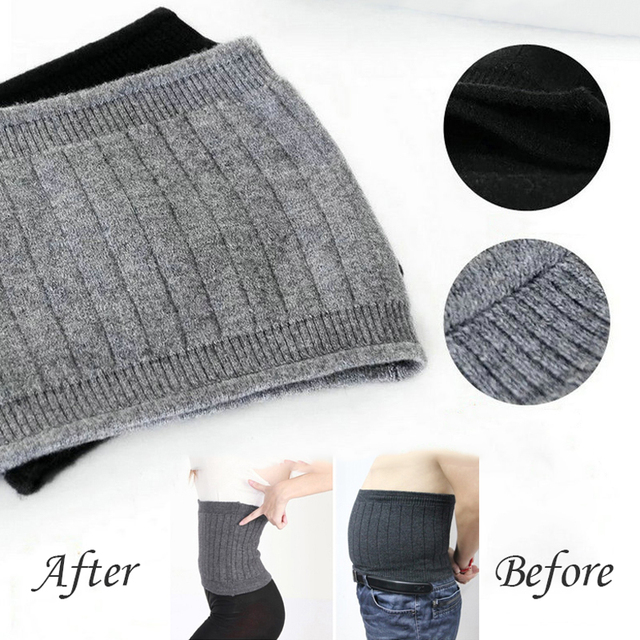 Breathable Women Men Cashmere Wool Comfortable Bodybuilding Waist Support Warmer Fitness Belts Waist Brace Guard Protector