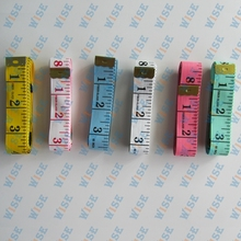 6PCS MEASURING TAILOR TAPE WHITE /COLOR 3/4″ WIDE 60″ LONG # MEASURING TAPE 3/4-60