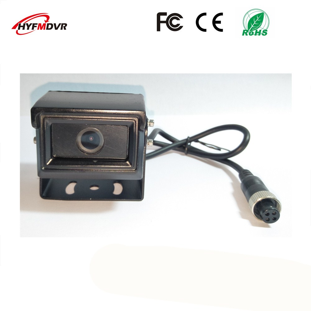 New 1 inch small square 12V wide voltage monitor head SONY 600TVL ship camera CMOS picture sensor support 1080P / 960P / 720P