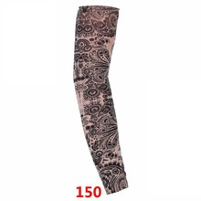 1 Pcs 2019 Hot Cycling Sports Tattoo UV Cool Arm Sleeves Cycling Runni