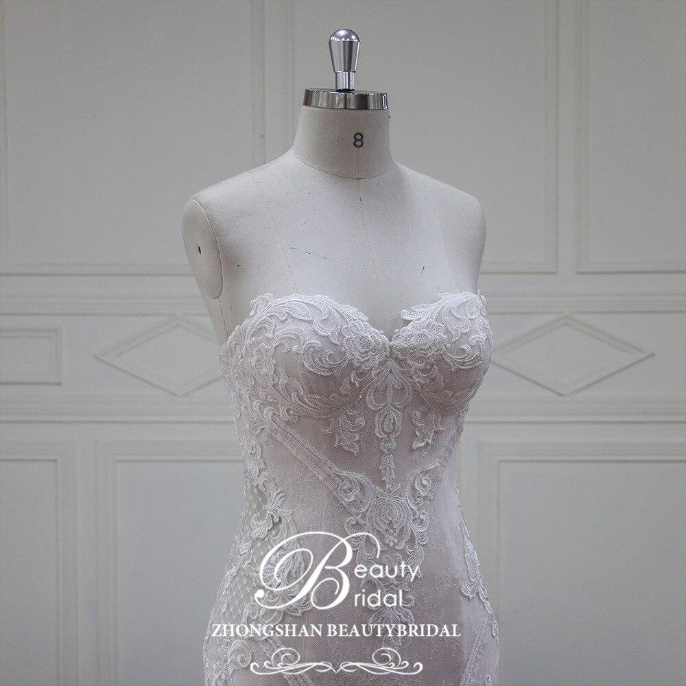 Eslieb Vestido De Noiva rochii de mireasa fara margele 2018 Sweethart - Rochii de mireasa - Fotografie 5