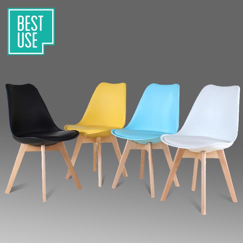 Mejor combinaci n con eames sillas ikea minimalista for Sillas de madera ikea