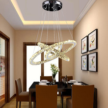 Modern LED Crystal Chandelier Lights Lamp For Living Room Cristal Lustre Chandeliers Lighting Pendant Hanging Ceiling Fixtures iwhd europe crystal led pendant light fixtures bedroom dinning home lighting hanging lamp lights cristal lustre de pendentes