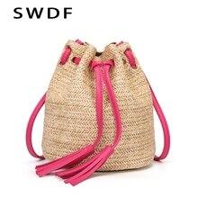 SWDF 2019 Fashion Small Crossbody Bags For Women Solid Shoulder Bag Beach Purses And Handbags Bolsa Feminina Lady Sac