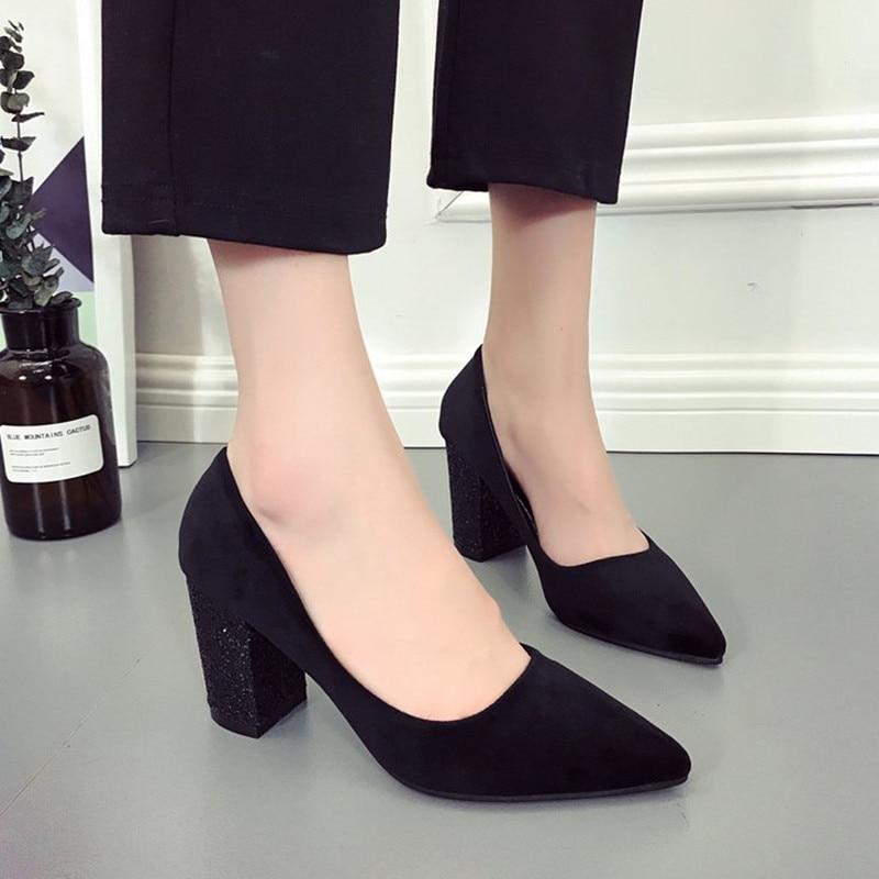 finest selection 94834 a0dbd Scarpe-Donna-Tacco-Alto-5 -CM-2018-Moda-Primavera-Tacchi-Alti-scarpe-di-Camoscio-Donne-Scarpe.jpg