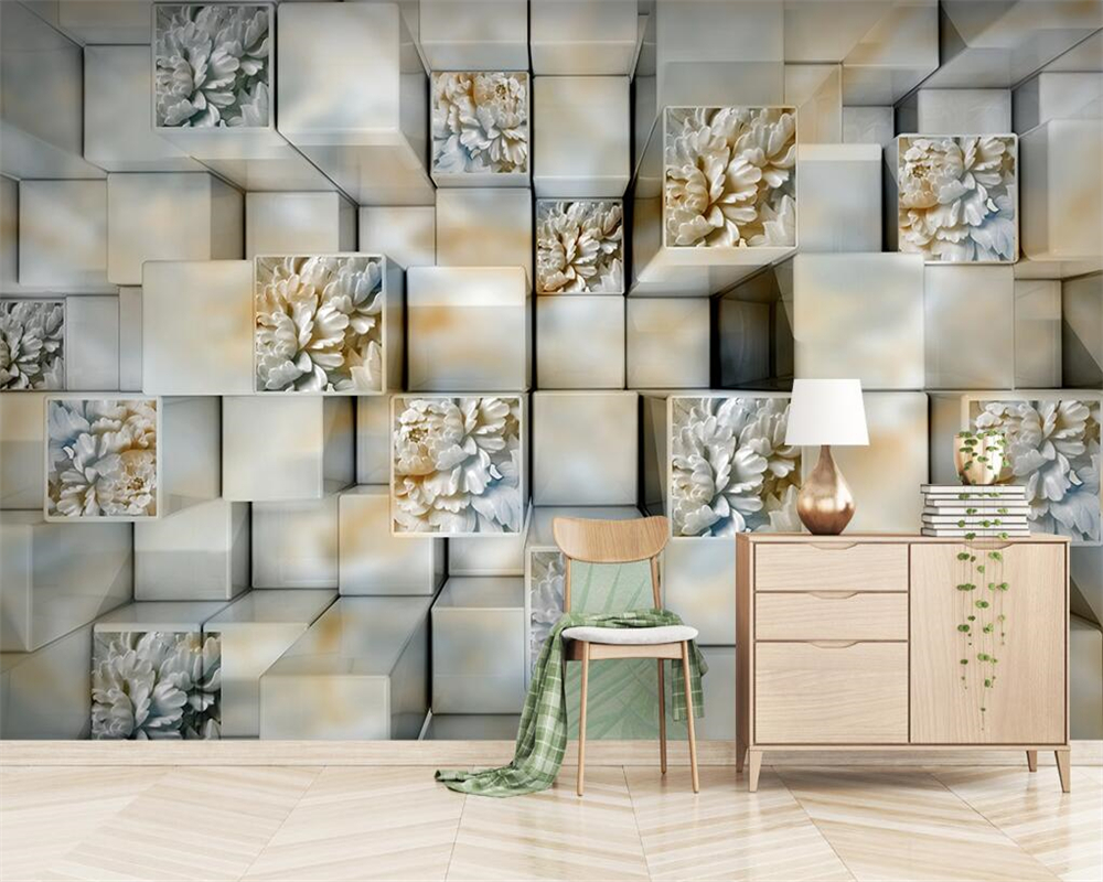 Beibehang Custom wallpaper 3D marble relief TV background wall living room bedroom background mura home improvement 3d wallpaper Home Improvement