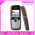 Refurbished Nokia 2610 original mobile phones internal 3MB GSM bar mobilephones free shipping