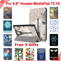 Cover Case For Huawei MediaPad T3 10 AGS L09 AGS L03 9 6 Tablet PC Stand