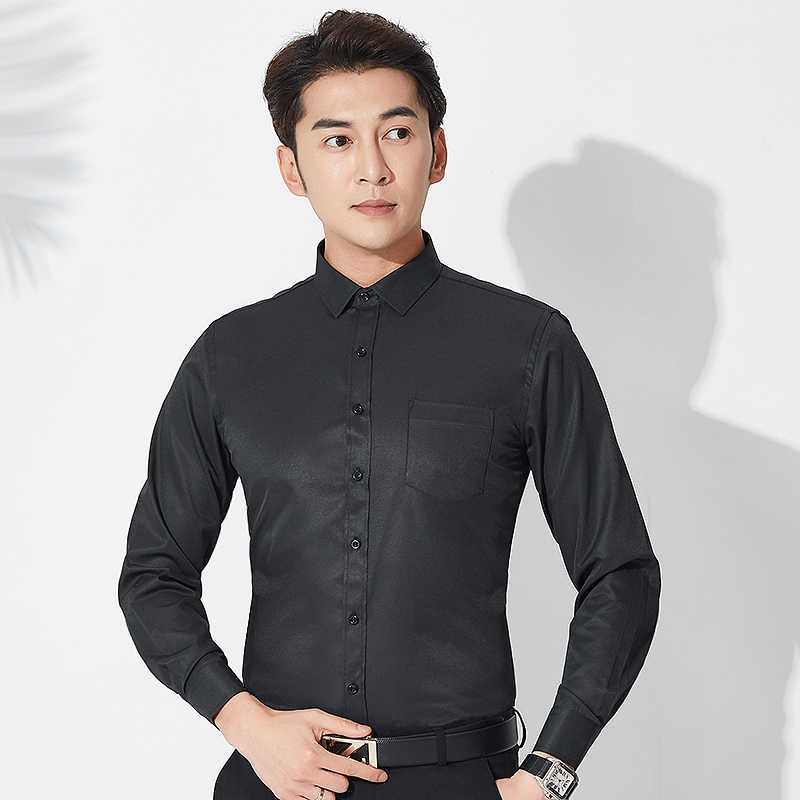 6XL 7XL 8XL Мужская Рабочая Рубашка, мужские рубашки с длинным рукавом, мужские рубашки, повседневная приталенная Мужская одежда, мужская одежда, рубашки Camisa Masculina