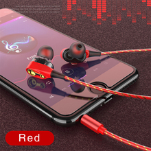 Dual Drive Stereo 3.5mm Wired earphone Earbuds High bass dual drive stereo In-Ear Earphones For iPhone huawei Xiaomi With Mic
