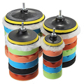 7 Pcs 3/5/6/7 Inch Polishing Waxing Buffing Pad Sponge Kit Set for Car Polisher Store 47