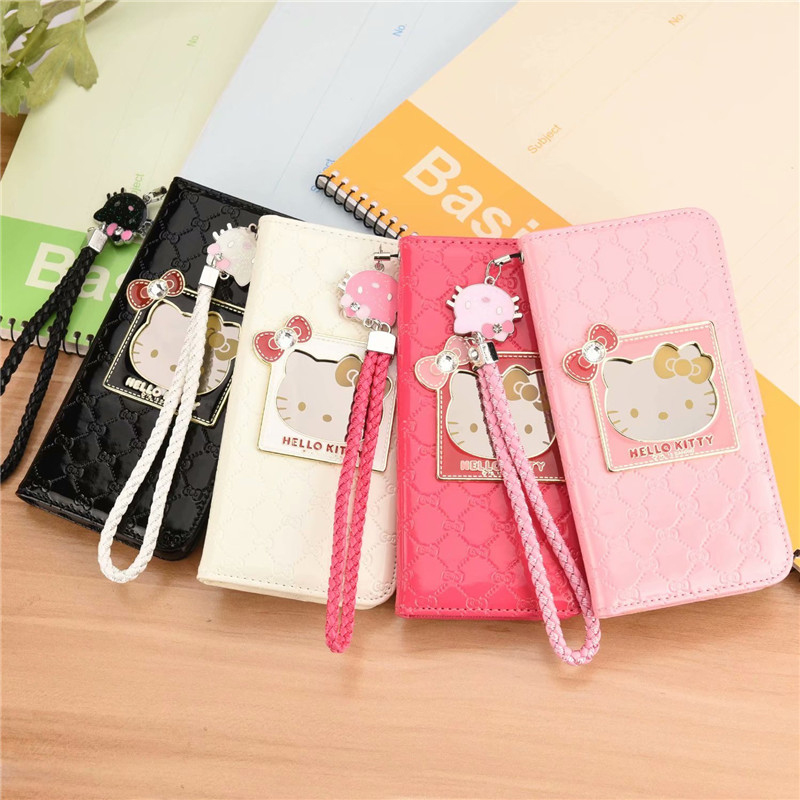 Hello Kitty Wallet Case For Samsung Galaxy S10 Plus S10E
