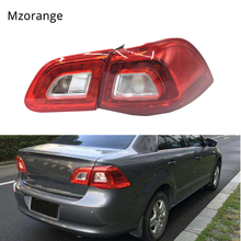 MIZIAUTO Car Rear Tail Light Lamp for VW Bora 2009 -2012 Car-Styling Outer inner left right side Brake Assembly