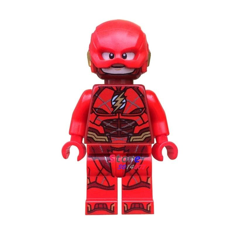 50pcs super hero dc comics model The Young Justice League Flash building block bricks for kits kid house games children toys