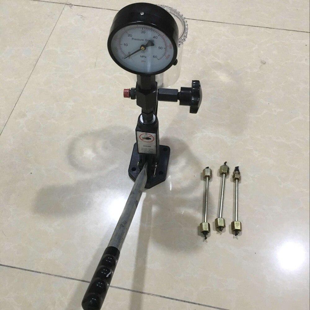 S60H Nozzle Validator Common rail diesel Injector nozzle validator fuel nozzle Injector Tool
