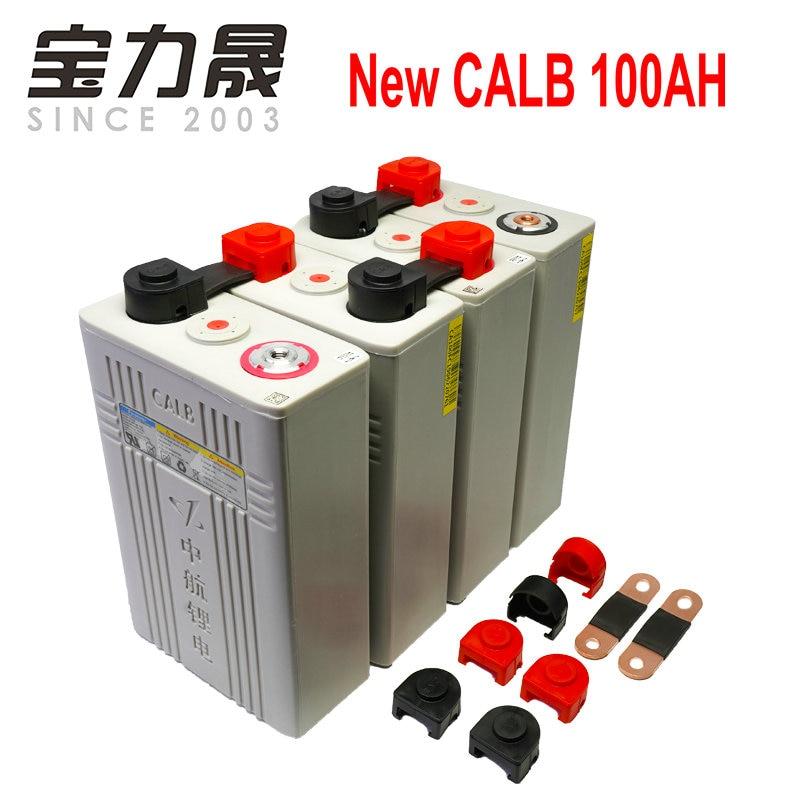 2019 NOVA CALB 12 4PCS Lifepo4 3.2v100ah CÉLULA de bateria V/24V100aH bateria de alta capacidade para motorscycle EUA UE UK RU TAX FREE FEDEX