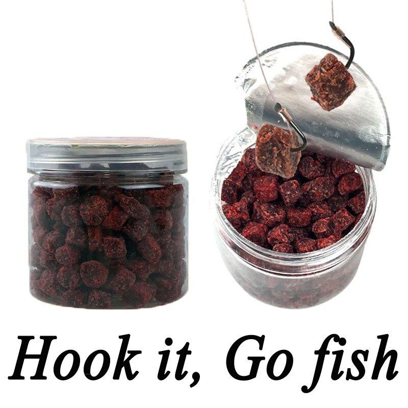 1 Bottle 120g 180pcs Carp Fishing Live Bait Carp Catfish Baits Liver-Meat and Fermenation Flavor Bait Boilies swisse ultiboost liver detox 120 tablets