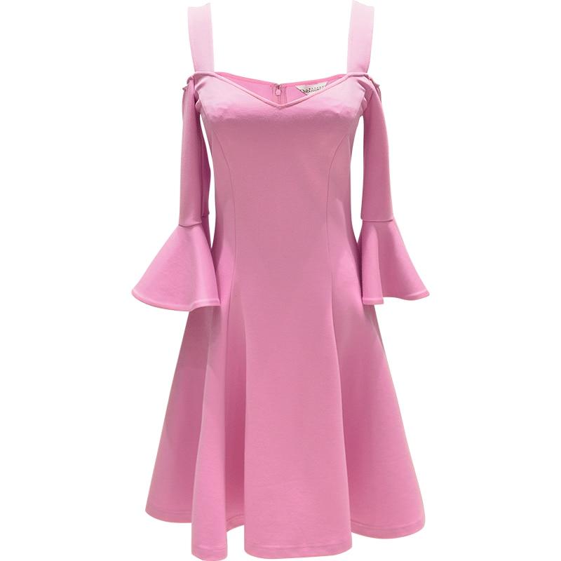 2017 Brand Vestidos De Fiesta Spring Plus Size Slim Waist Elegant ...