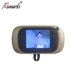 Image 3 - Smart Elektronische deurbel Kamera Video Guckloch Auf Tür Mirilla Digitale Puerta Tür Viewer Mit IR Leds