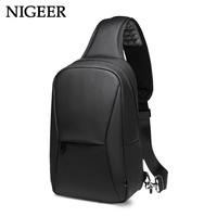 NIGEER Short Trip Chest Pack Casual Messengers Bags Water Repellent Chest Bag Shopping Travel Crossbody Bags Male n1935