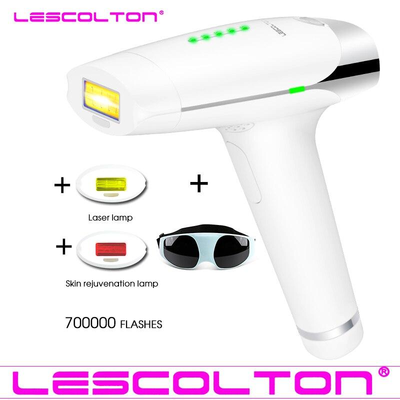 Permanente IPL Laser Epilatore Indolore Laser di Rimozione Dei Capelli Depilazione Macchina Per Il Corpo del Bikini Delle Donne Depilatoria Rasoio 700000 impulsi